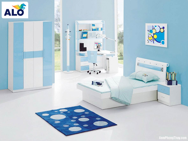 Màu ngọc lam kết hợp với nhiều tông màu nội thất khác nhau