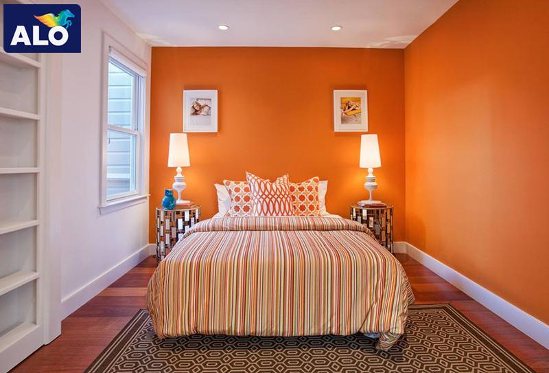 Màu cam mang đến sự vui tương năng động