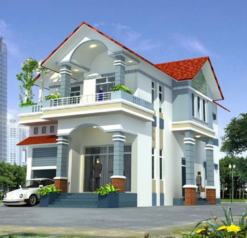 Chọn màu sơn ngoại thất cho ngôi nhà dựa vào vị trí địa lý