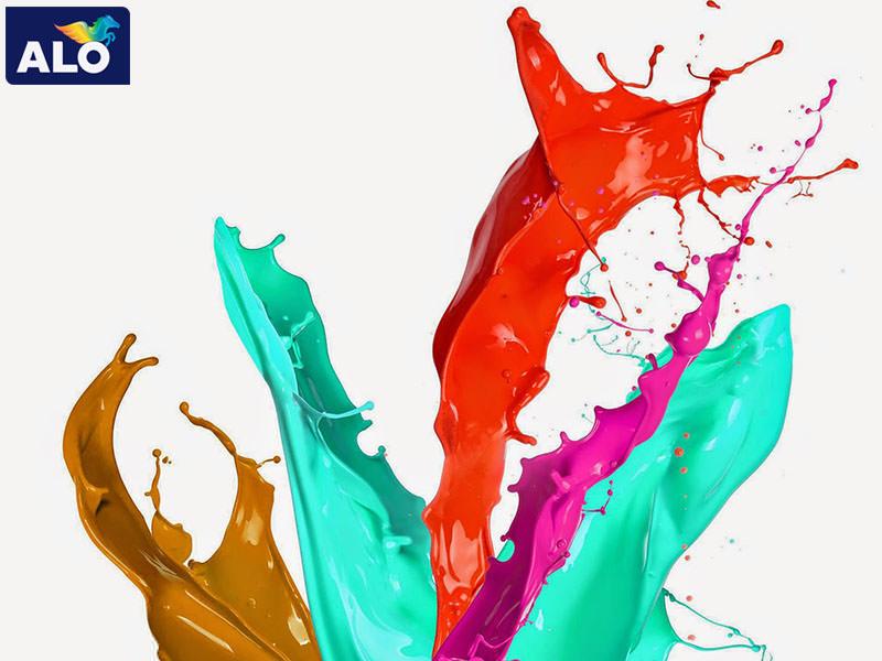 Sơn rất đa dạng về màu đáp ứng đầy đủ yêu cầu của khách hàng