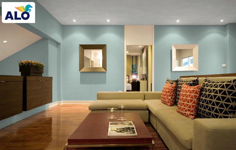 Chọn màu sơn cho phù hợp với từng căn phòng giúp tạo điểm nhấn cho ngôi nhà được tốt hơn