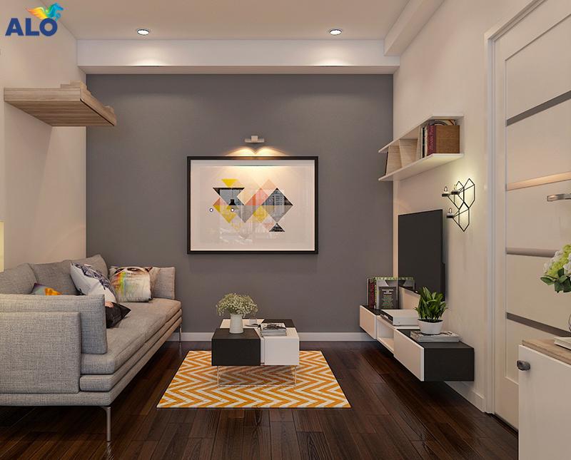 Chú ý đến diện tích của căn phòng để chọn màu sơn cho phù hợp