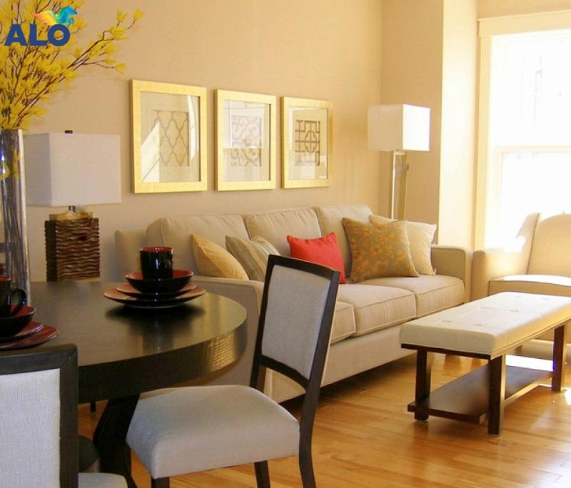 Màu vàng kem phù hợp với không gian nhà bếp