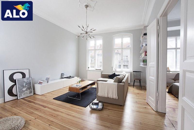 Cách phối màu sơn nội thất giúp nới rộng không gian
