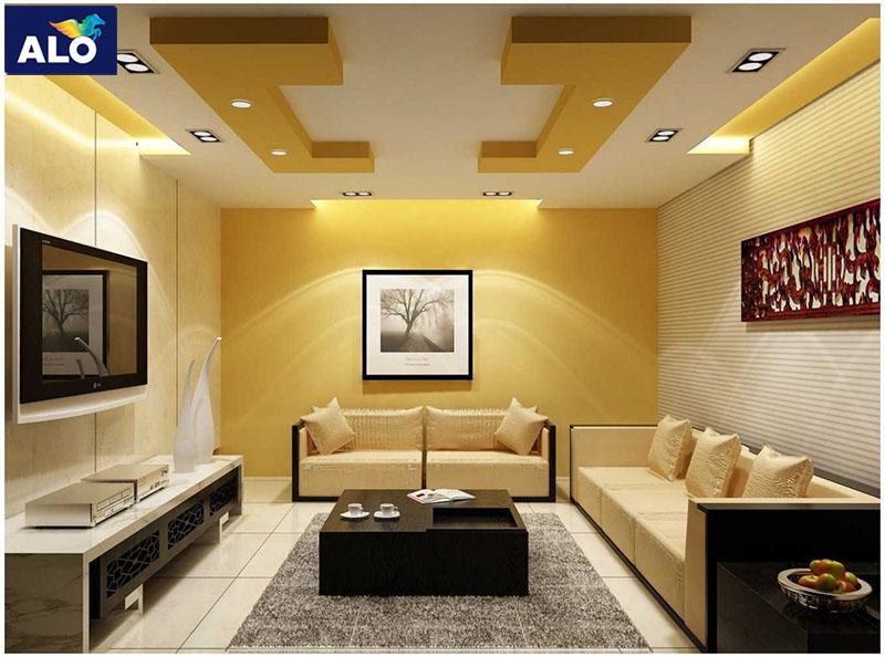 Không nên sử dụng quá nhiều màu vàng cho không gian nhà