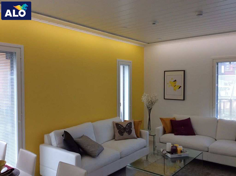 Màu vàng nhạt một gam màu thích hợp cho gia chủ mệnhThổ