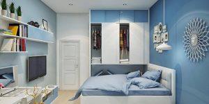 Cách phối màu sơn tường và đồ nội thất