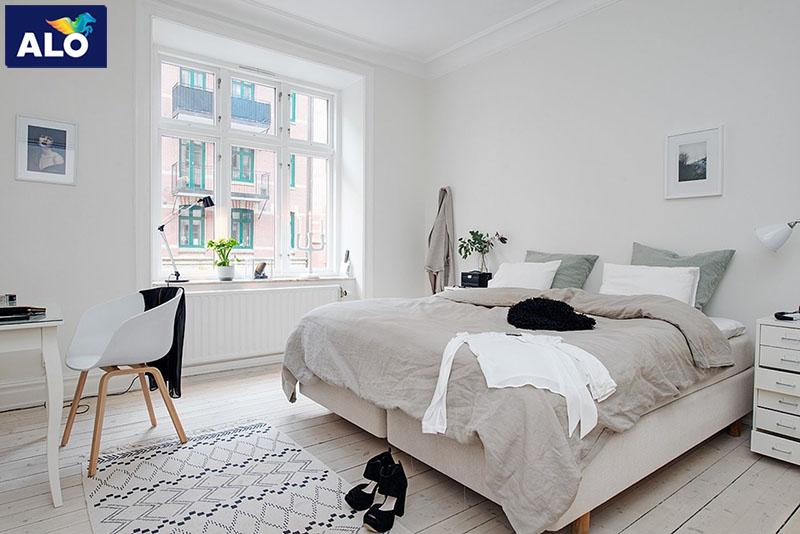 Phòng ngủ mang phong cách Scandinavian