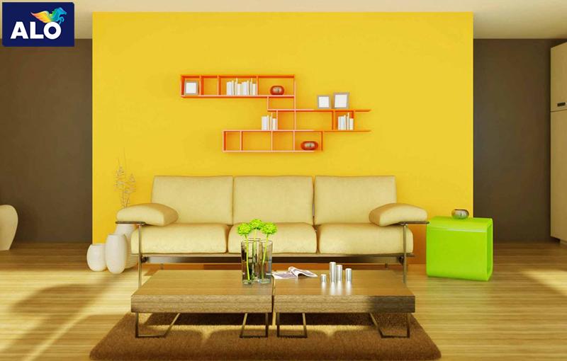 Hạn chế sử dụng nhiều màu sắc nổi bật trong cùng một không gian