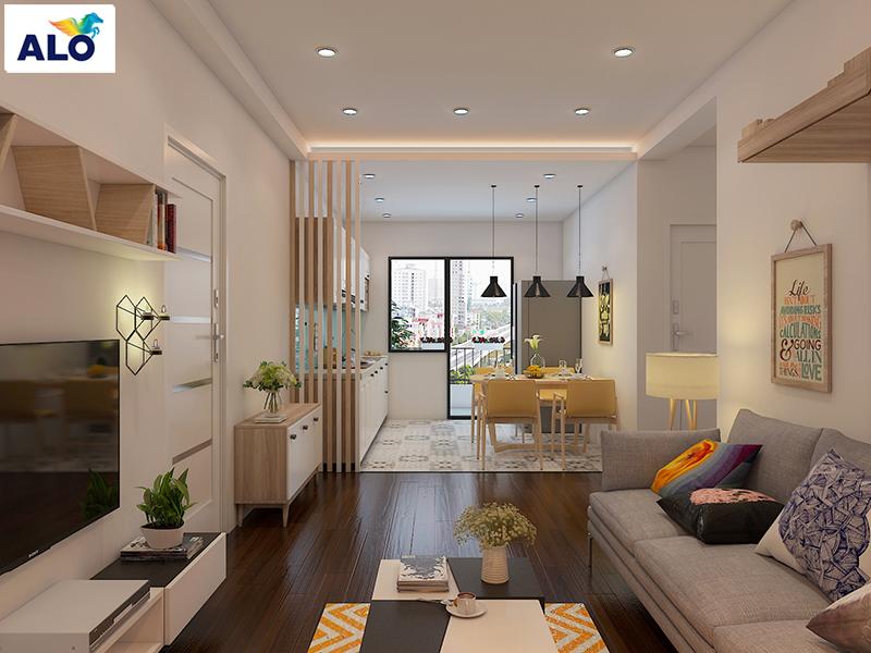 Lựa chọn màu sơn tường nội thất cho chung cư