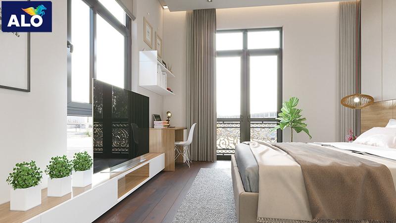 Phòng ngủ có thể lựa chọn màu sắc theo ý thích