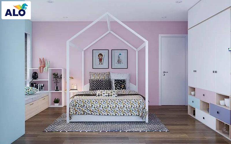 Phòng ngủ tuổi teen không giới hạn về màu sắc