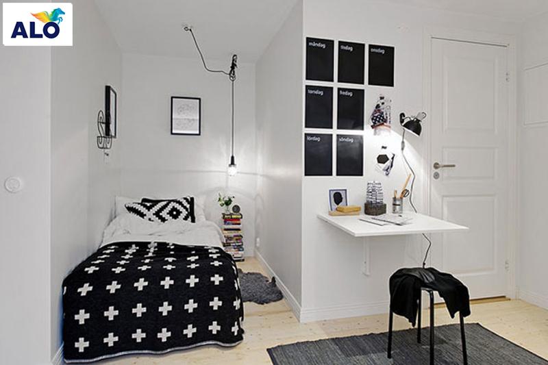 Lựa chọn chiếc giường cân đối với phòng ngủ