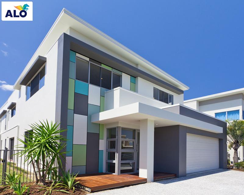 Màu sơn ngoại thất dành cho không gian nhà bạn