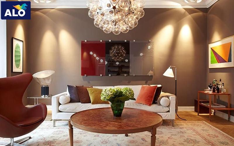Màu Socola gam màu lạ lẫm với không gian nhà bạn