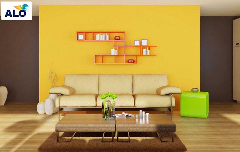 Màu ánh kim tạo lên vẻ đẹp cho ngôi nhà bạn
