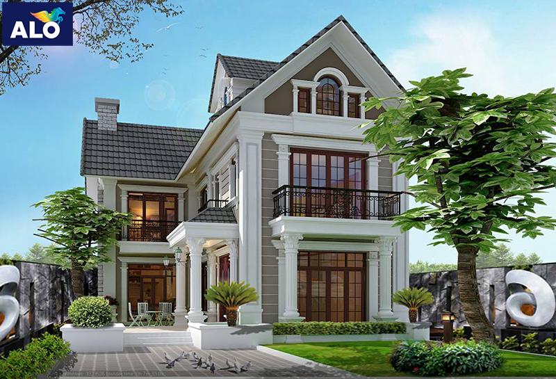 Sơn ngoại thất giúp bảo vệ ngôi nhà bạn khỏi bụi bẩn