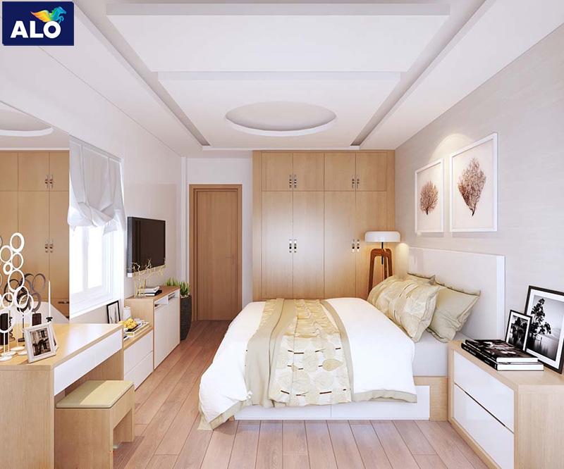 Lựa chọn màu sơn phù hợp cho phòng ngủ