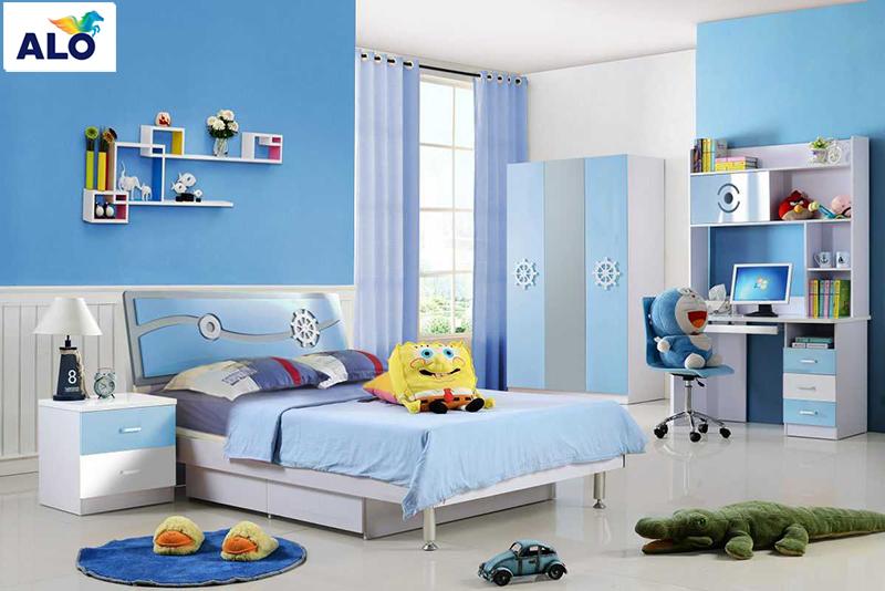 Gam màu sơn kích thích sự sáng tạo cho trẻ nhỏ