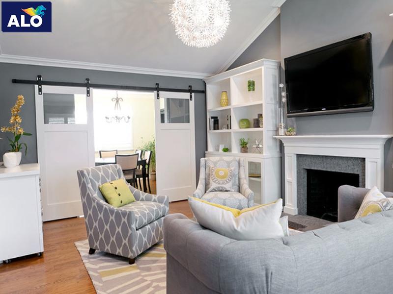 Chọn màu sơn và đồ nội thất dành cho gia chủ thích sự lịch lãm