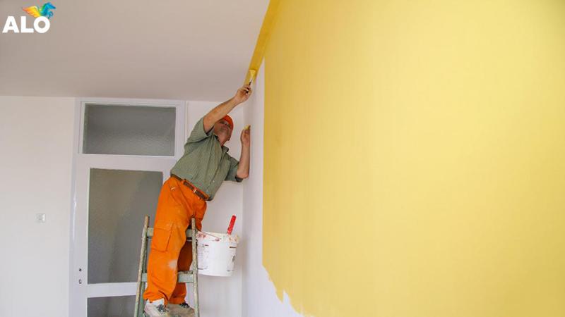Cần tuân thủ nguyên tắc thi công sơn
