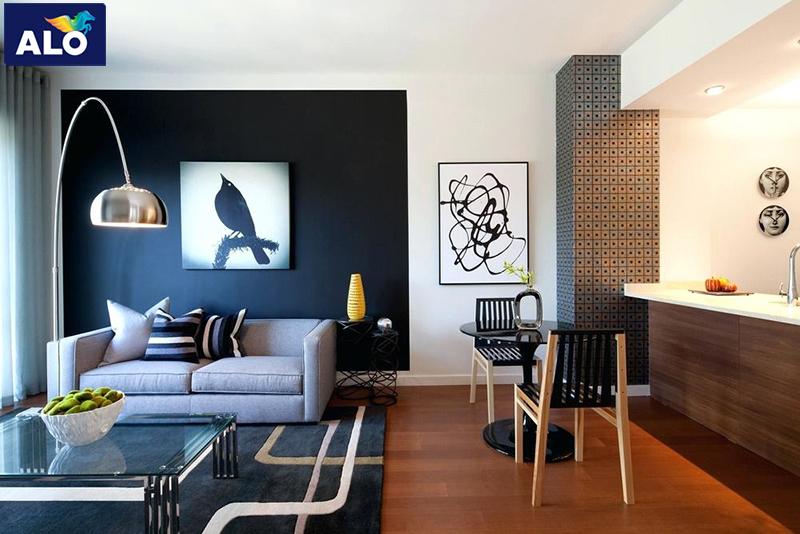 Gam màu đen thích hợp với phong cách hiện đại