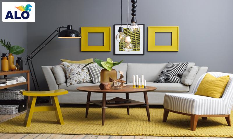 Gam màu xám được ứng dụng nhiều trong thiết kế nội thất