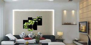 Tranh tường và đồ nội thất cần hài hòa