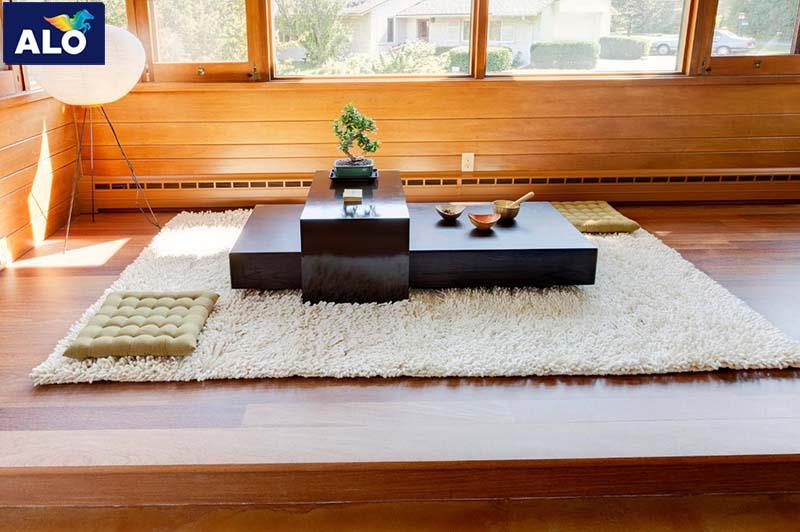 Gam màu của gỗ luôn là ưu tiên hàng đầu cho phong Nhật