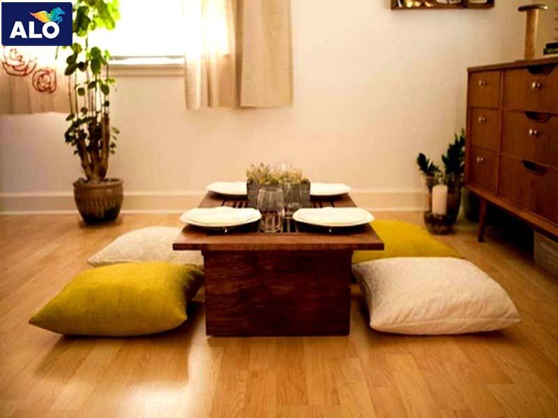 Nội thất dành cho phòng khách của người Nhật