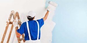 Quá trình thi công sơn tường