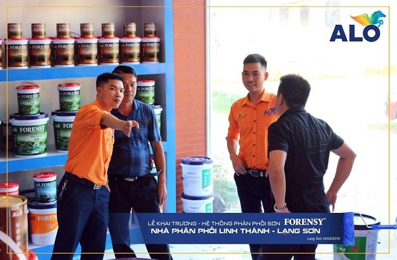Nghệ thuật bán hàng trong kinh doanh sơn nước