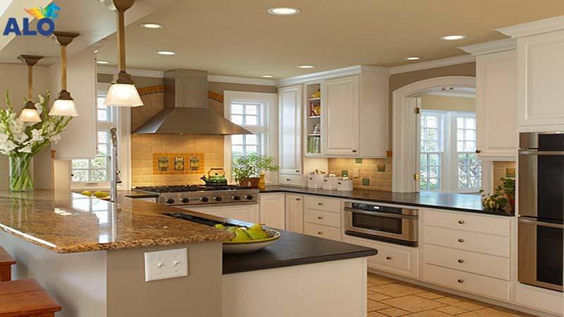 Thiết kế phòng bếp cần lưu ý những điểm sau