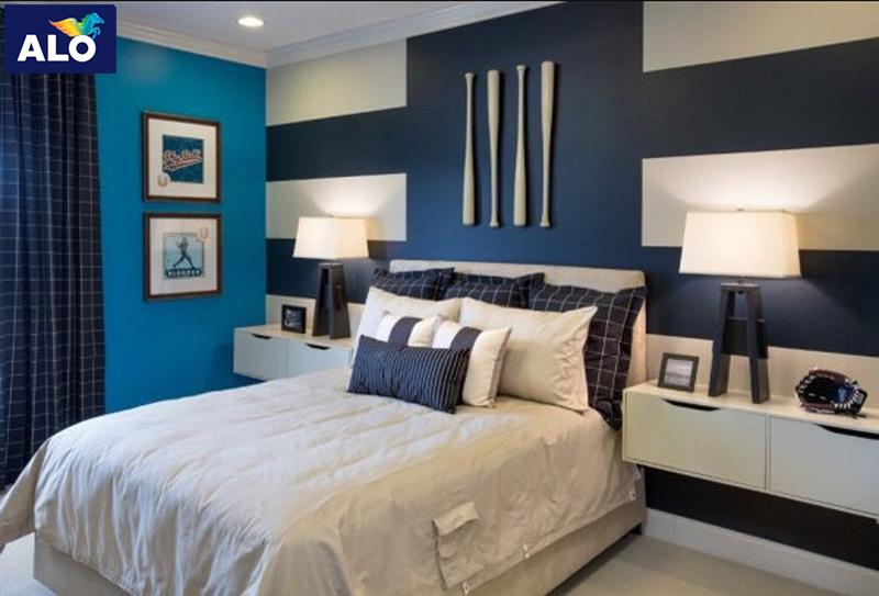 Phòng ngủ người Kỷ Hợi nên dùng màu xanh đen