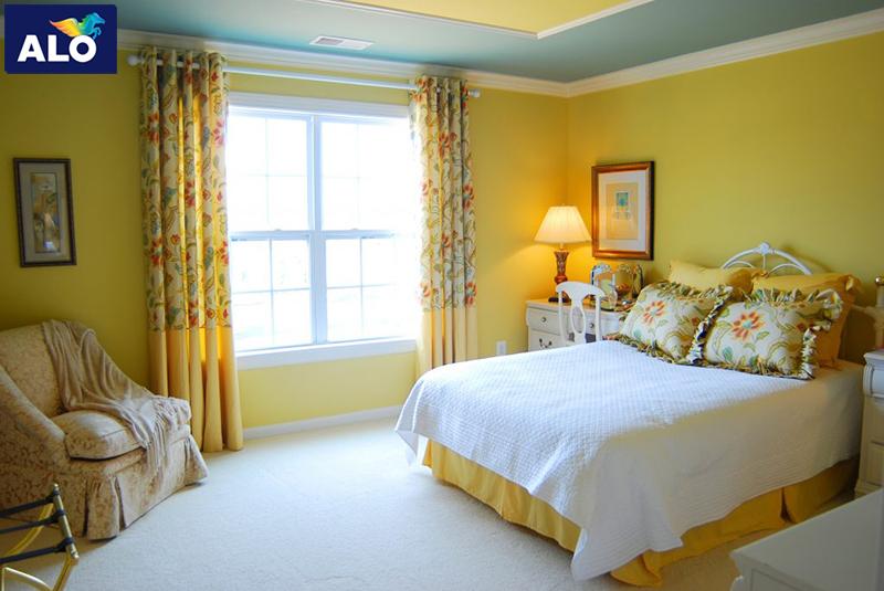 Phòng ngủ người Tân Hợi nên dùng màu vàng