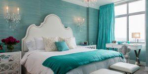 Phòng ngủ người Quý Hợi nên sử dụng màu xanh