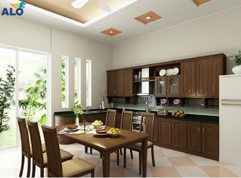 Phòng bếp cùng cần đảm bảo yếu tố về phong thủy
