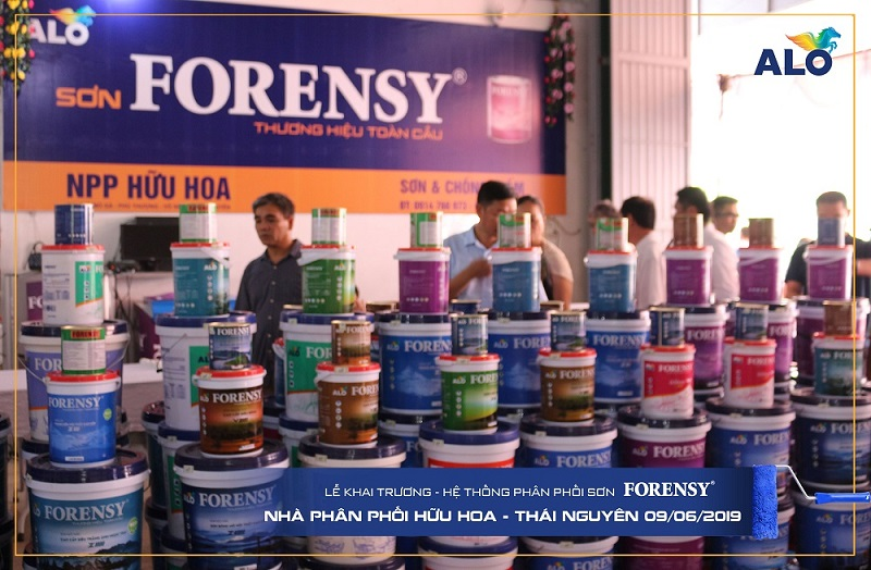 Cần lựa chọn thương hiệu sơn nổi tiếng để kinh doanh