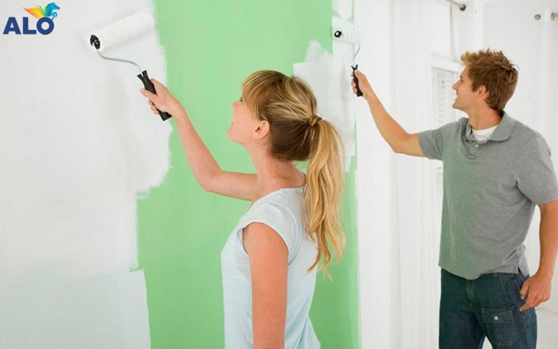 Sơn lại nhà có cần sơn lót không