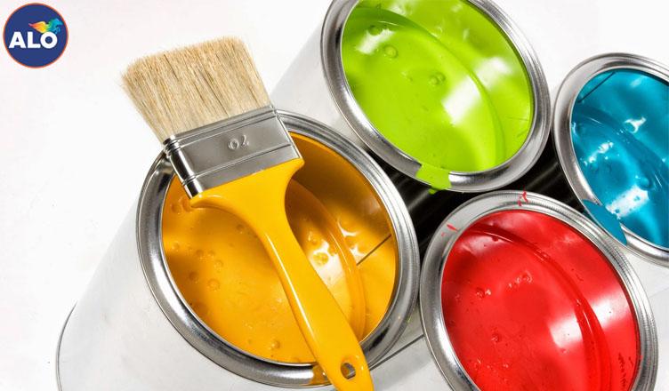 Pha màu sơn hợp lý giúp cho màu sơn đẹp hơn
