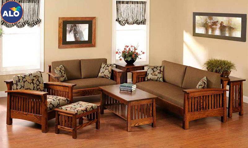Những gam màu nhạt sẽ phù hợp với không gian đồ gỗ tự nhiên